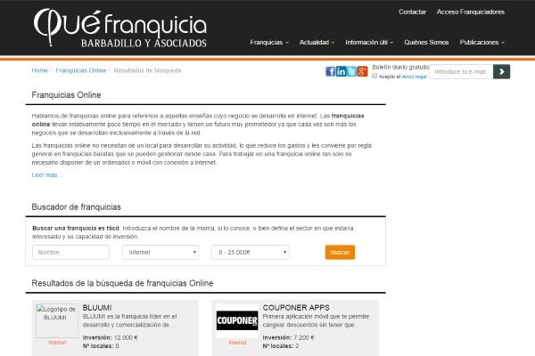 Franquicias Online